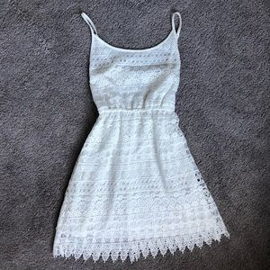 H&M White Sun Dress